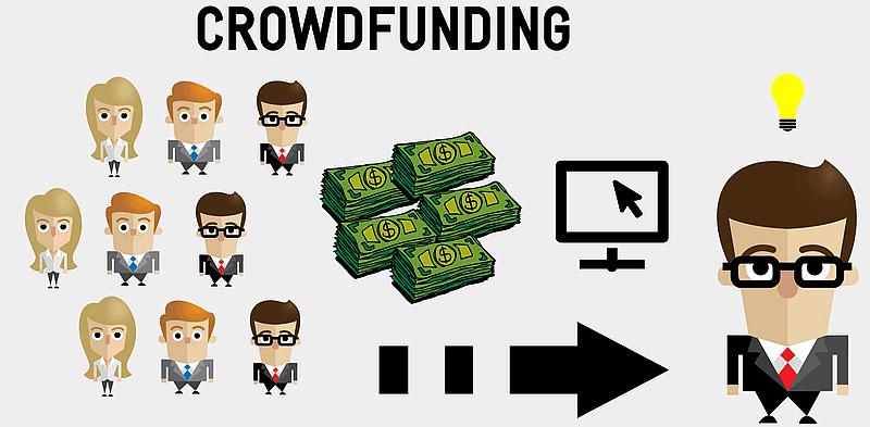 Crowdfunding Symbolbild