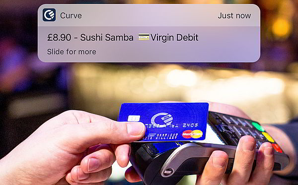Push Notification von Curve