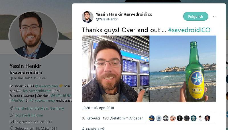 Twitter-Account Yassin Hankir